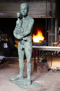 Connla (2015), Bronze, Edition of 3, H218 x L57 x W122cm