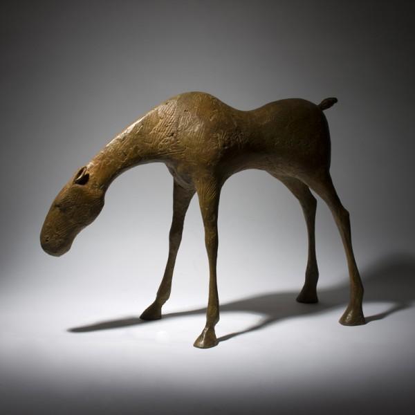 Maquette for Etain III (2015), Bronze, Edition of 6, H45 x L63 x W20cm