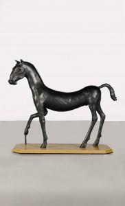 Field Day 1 (Kouros Horse) (1986), Bronze, Edition 3 of 6, H153 x W195 x D76cm
