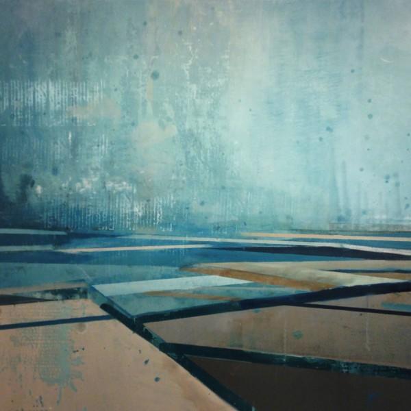 Slipway, Oil on Canvas, 119 x 93cm