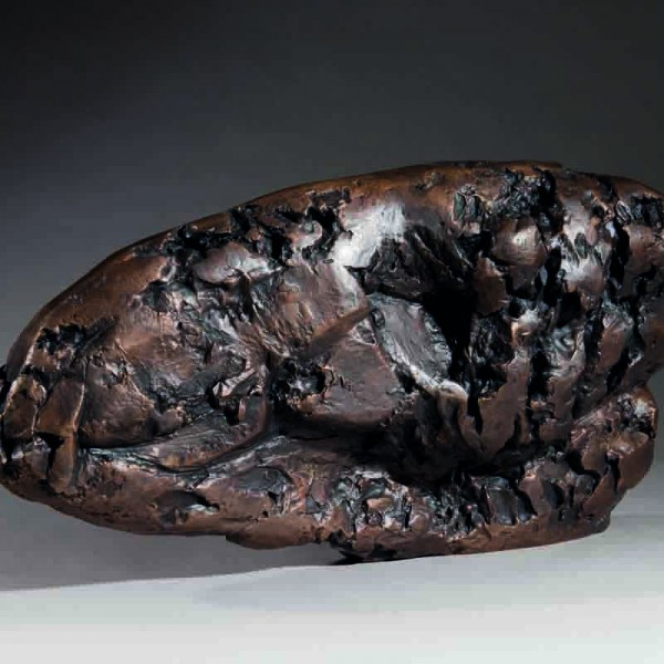 Carapace II (1963), Bronze, Edition 2 of 6, H30.5 x W61cm