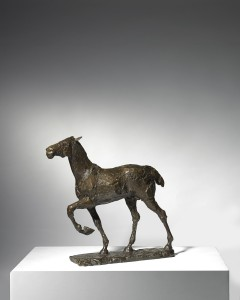 Horse (1979), Bronze, Edition 1 of 9, H30.5 x W33.5cm