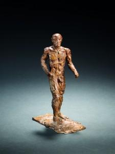 Small Male Figure (1986), Bronze, Edition 6 of 15, H29.6cm
