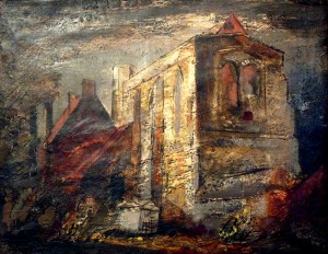 Great Goxhill (1947), Oil on Canvas, 41 x 51cm