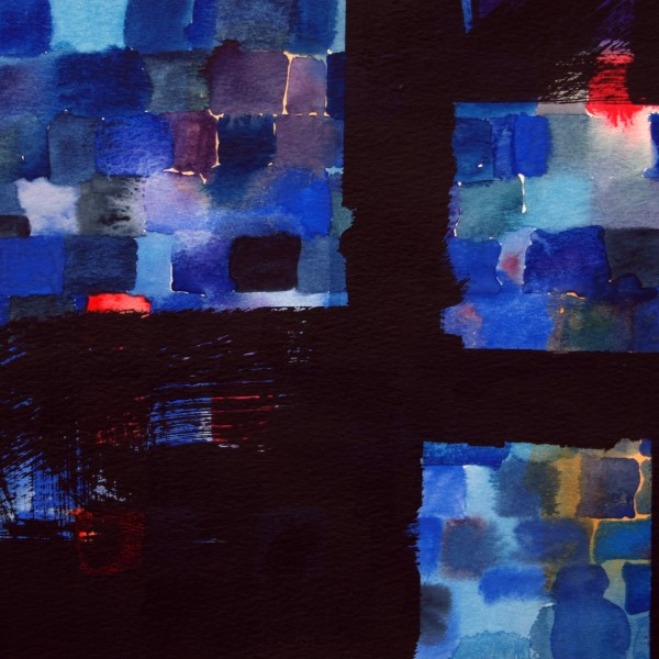A Road we have Travelled (2012), Watercolour, 25.4 x 35.5cm