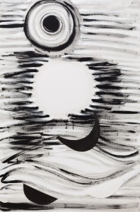 Lizard Light (1996-98), Acrylic on Canvas, 188 x 127cm
