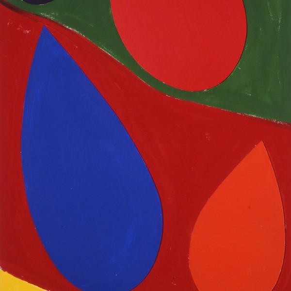 Tears of the Sun (1995), Acrylic on Canvas, 203 x 106.8cm