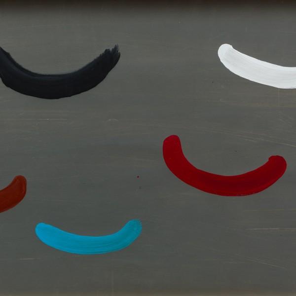 Untitled (1972), Gouache on Paper, 55.5 x 81cm
