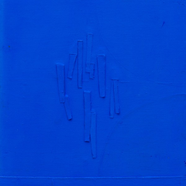 Untitled (1966), Acrylic and Canvas on Board, 47 x 38.1cm