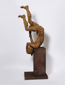 Freefall (2015), Bronze, Edition of 3, 147 x 59 x 57cm