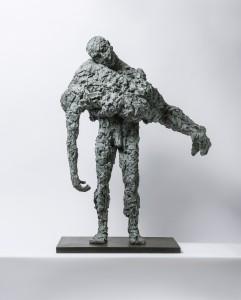 Rescue Me (2015), Bronze, Edition of 6, 105 x 87 x16cm