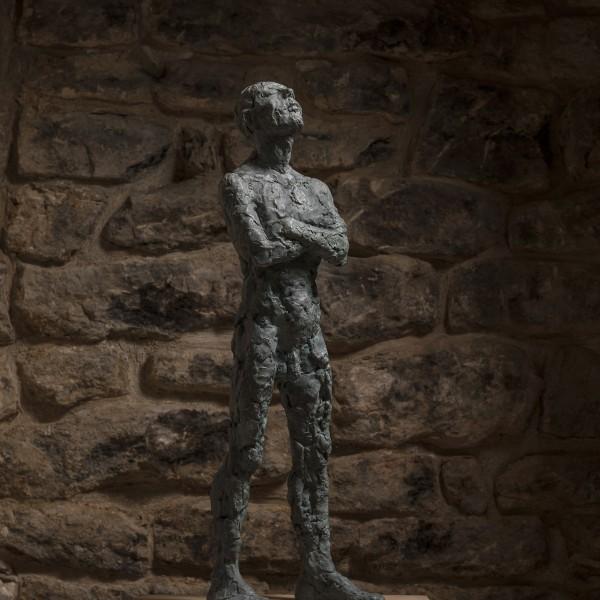 Still Standing (2015), Bronze, Edition of 6, 65 x 21 x 18cm