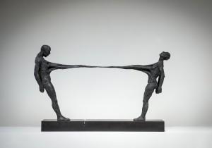 Ties That Bind (2015), Bronze, Edition of 6, 47 x 72 x 16cm