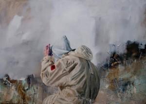 Arsenale (2013-14), Oil on Canvas, 100 x 120cm