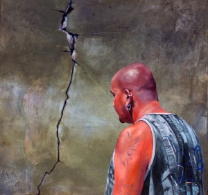 Golgotha (2015), Oil on Canvas, 52 x 38cm
