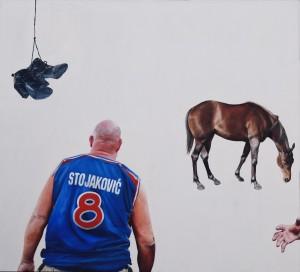La Dolce Vita (2010-11), Oil on Canvas, 150 x 163cm