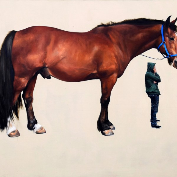 No Line on the Horizon (1999-2000), Oil on Canvas, 120 x 150cm
