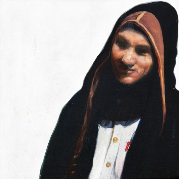 Stavri (2007), Oil on Canvas, 25 x 25cm