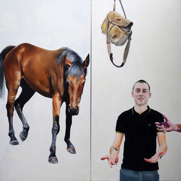 The Age of Reason or Salems Lot (2011), Oil on Canvas, 170 x 180cm