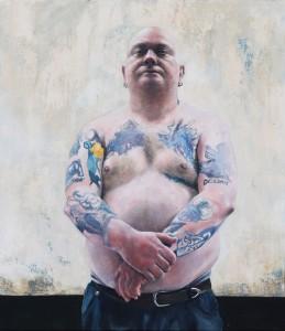 Tony (2014), Oil on Canvas, 80 x 70cm
