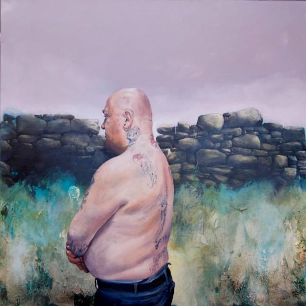 Happy Days (2014), Oil on Canvas, 100 x 100cm