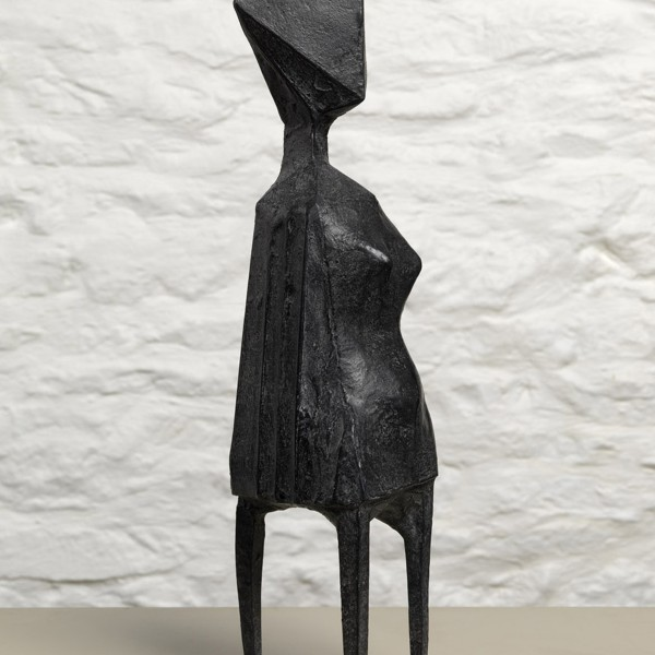 Little Girl II (1970), Bronze, Edition 00/6, H40cm, 601