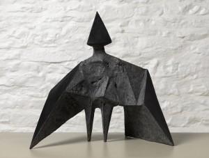 Maquette III Stranger (1969), Bronze (black), Edition 2 of 6, H38cm, 589B