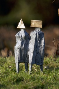 Maquette VII Walking Couple (1976), Bronze, Edition 7 of 8, 40.5 x 23 x 18cm, CR736S