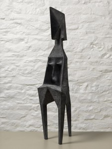 Standing Figure (1988), Bronze, Edition 2 of 9, H79 x W22 x D20cm, C75B