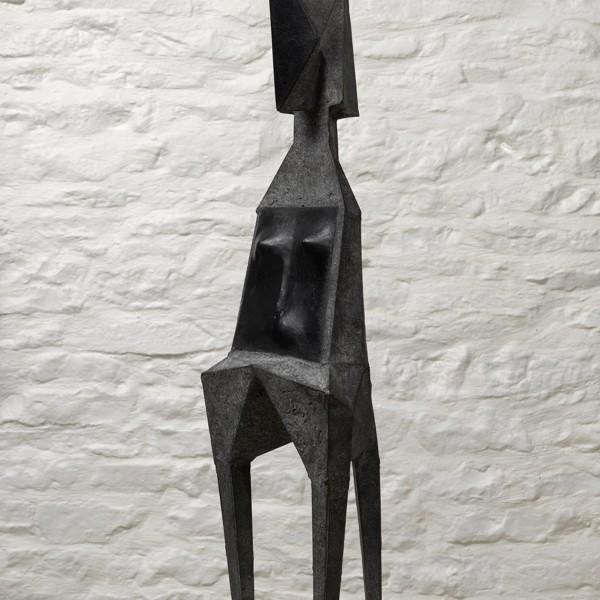 Standing Figure (1988), Bronze, Edition 2 of 9, H79 x W22 x D20cm, C75B