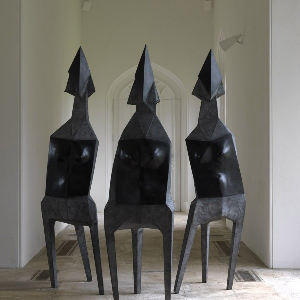 Three Elektras (1969), Bronze (black), Edition 2 of 4, H226 x W223 x D219cm, 569C
