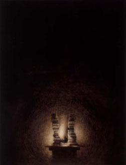 Books (2002-03), Oil on Canvas, 61 x 47cm