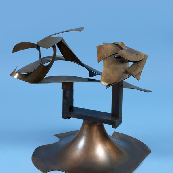 Arethusa (2002), Copper, Brass and Steel, Unique, 48 x 48cm