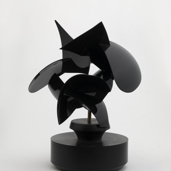 Circus (2010), Powder Coated Stainless Steel and Black Nylon, Unique, 26.7 x 14cm