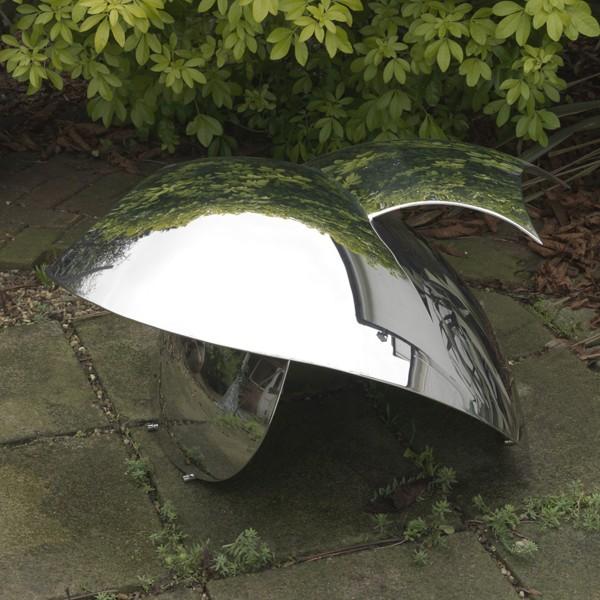Gemini (2009), Stainless Steel, Unique, 50.8 x 101.6cm