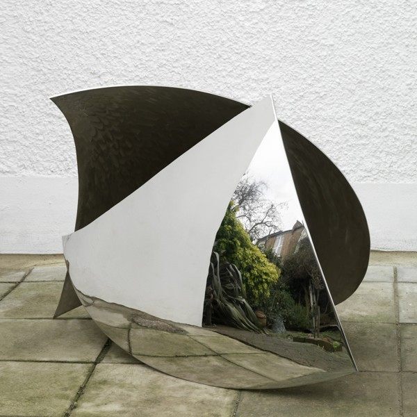 Lapwing (2011), Stainless Steel, Unique, 86.4 x 129.5cm