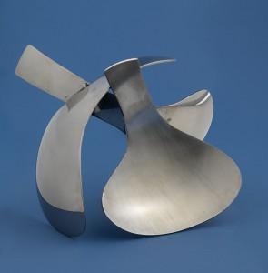 Triton Maquette (2010), Stainless Steel, Unique, 14 x 20.3cm