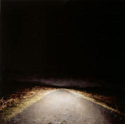 Cornish Road (2004-06), Oil on Board, 44.5 x 45cm