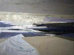 Crossings (2013), Oil on Board, 18 x 24cm