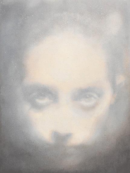 Elle (2014), Oil on Board, 35 x 46cm