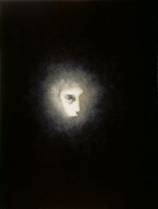 Half Head II (2006-07), Oil on Canvas, on Board, 29.25 x 22.75cm