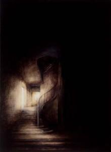 Hotel du Marquis de Lagrange (2002-03), Oil on Canvas, 135 x 25.5cm