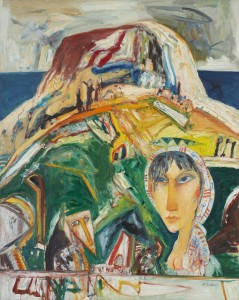 Loth (1999), Oil on Canvas, 60 x 48 inches