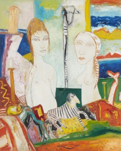 Reverie (1999), Oil on Canvas, 60 x 48 inches