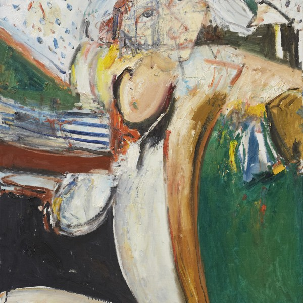 St Kilda (1983), Oil on Canvas, 60 x 48 inches
