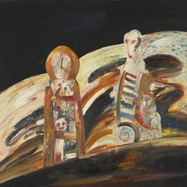 Time Will Tell (1975), Oil on Canvas, 68 x 68 inches