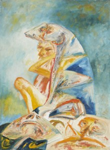 Untitled (1995), Oil on Canvas, 30 x 22 inches