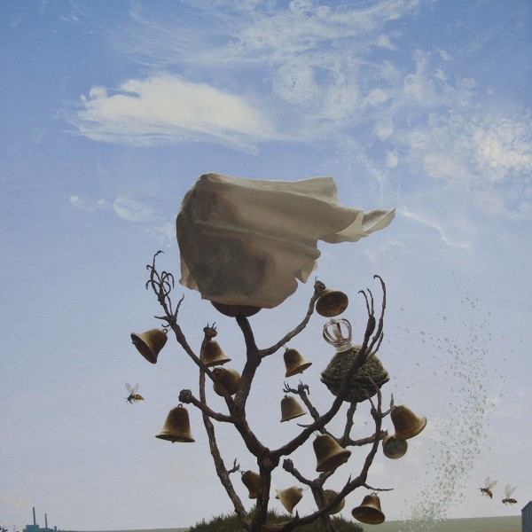 It is all the Same Electricity (2009-11), Oil on Canvas, 75 x 54cm