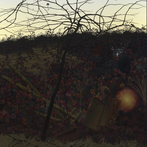 As Above So Below (2005-11), Oil on Canvas, 190.5 x 164cm