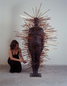 Text Me (2002-03), Bronze and Copper, Edition of 6, 2 Artist's Copies, 200 x 150 x 150cm